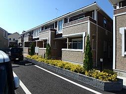 栃木県宇都宮市宮の内3丁目の賃貸アパートの外観