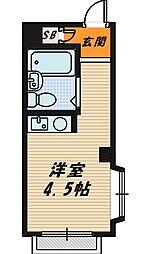 村林マンション[3階]の間取り