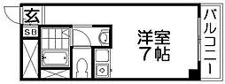 忍ヶ丘マンション[3階]の間取り
