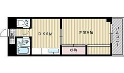 第一石田マンション[3階]の間取り