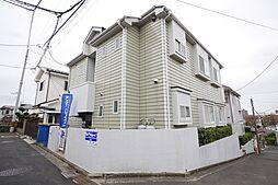 神奈川県座間市広野台1丁目の賃貸アパートの外観