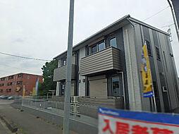 栃木県宇都宮市ゆいの杜5丁目の賃貸アパートの外観
