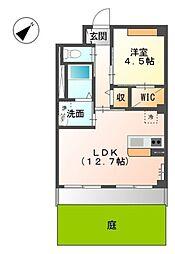 道野辺中央4丁目新築マンション[2階]の間取り