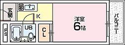 グレース翠香園[2階]の間取り