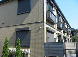東京都大田区中央1丁目の賃貸アパートの外観