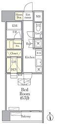 OUAL戸越[3階]の間取り