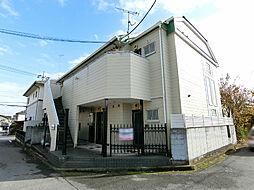 栃木県宇都宮市兵庫塚3の賃貸アパートの外観