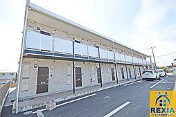 千葉県千葉市花見川区検見川町5丁目の賃貸アパートの外観