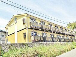 長野県飯田市高羽町6丁目の賃貸アパートの外観