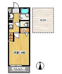 ユゥ&ミィ金山駅前B棟Part2[1階]の間取り