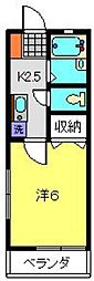 サン・ラピス壱番館[2階]の間取り