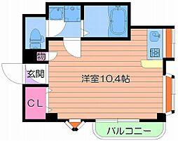 アクティハイム京橋[3階]の間取り