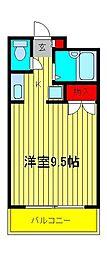 サンライフ耀[2階]の間取り