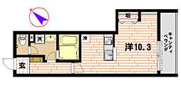 神奈川県藤沢市辻堂2丁目の賃貸マンションの間取り