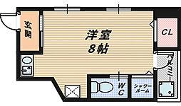 浅香山テラス[1階]の間取り