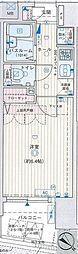 エステムプラザ日本橋弐番館[2階]の間取り
