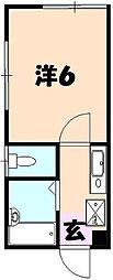 桜ヶ丘アイランド[101号室]の間取り