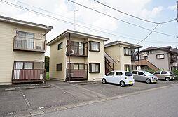 栃木県宇都宮市宿郷5丁目の賃貸アパートの外観