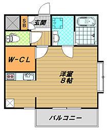 フォレストメゾン須磨寺[2階]の間取り