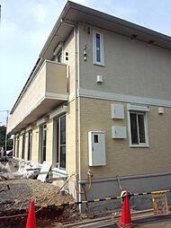 神奈川県横浜市青葉区柿の木台の賃貸アパートの外観