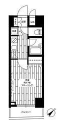 ステージファースト三軒茶屋II[6階]の間取り