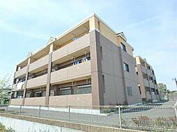 東京都日野市大字川辺堀之内の賃貸マンションの外観