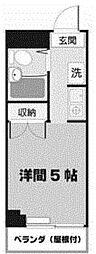 北浜ビル[2階]の間取り