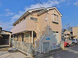 神奈川県大和市深見台2丁目の賃貸アパートの外観