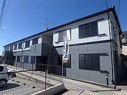 大阪府箕面市新稲3丁目の賃貸アパートの外観
