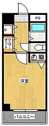 アスペクタ博多中央[606号室]の間取り