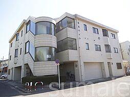 東京都北区浮間1丁目の賃貸マンションの外観