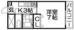 MOE STAGE[2階]の間取り