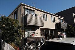 神奈川県川崎市多摩区枡形2丁目の賃貸アパートの外観