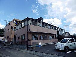 東京都八王子市左入町の賃貸アパートの外観