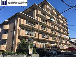 愛知県豊橋市柱一番町の賃貸マンションの外観