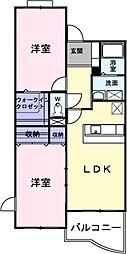クレメンティア[3階]の間取り