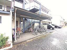 ラ・フォンテーヌの駐輪場