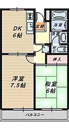 ミズキ湊[1階]の間取り