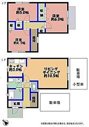 [一戸建] 福岡県福岡市東区和白東4丁目 の賃貸【/】の間取り