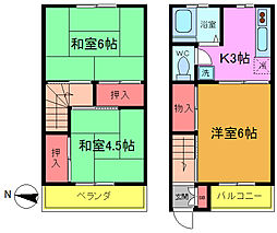 コーポ沢田[5号室]の間取り