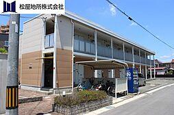 愛知県豊川市末広通1丁目の賃貸アパートの外観
