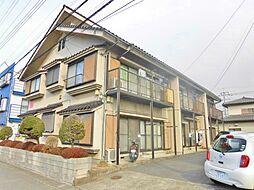 神奈川県大和市渋谷1丁目の賃貸アパートの外観