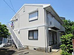 東京都多摩市連光寺1丁目の賃貸アパートの外観