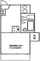 入江ビル(旧館)[408号室]の間取り