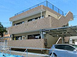 栃木県下都賀郡壬生町あけぼの町の賃貸マンションの外観