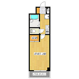 東京都足立区新田2の賃貸マンションの間取り
