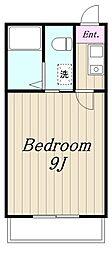 Maison Blanche メゾンブランシュ[301号室]の間取り