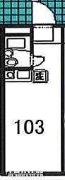 セイコーガーデン2[103号室]の間取り