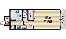 HIYORI-2[4階]の間取り