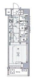 JR京葉線 潮見駅 徒歩4分の賃貸マンション 3階1Kの間取り